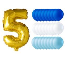 """Ballonger 24-pack /Ivory/vit """"bröllopsballonger"""""""
