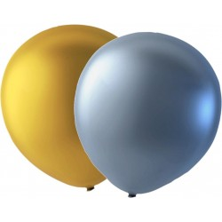 "Ballonger 12-pack Guld, Silver och Vit - 30 cm (12"")  - 3"